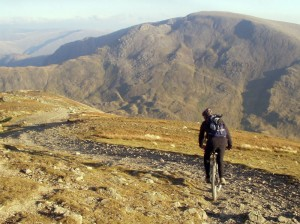 Chris top of Dollywagon Pike 8x6