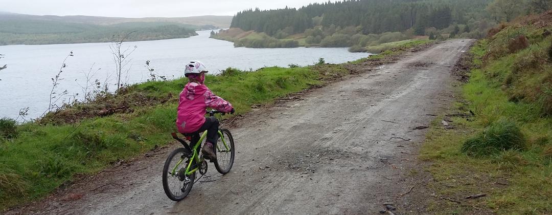 Mynydd Hiraethog mtb route guides, North Wales