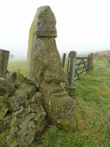 Stone Head on the Todmorden Centenary Way.