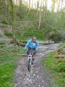 Mark after Pentre ford near Cilcain.