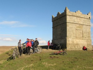 At the tower on Rivington Pike.