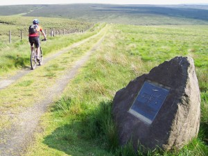 Col (flattyres) on the Trans Pennine Trail.