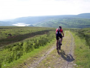 Mark descending to the Woodhead Tunnel.