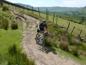 Peter on the Hollins Cross descent.