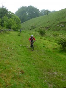 Alex on the Blackwell Mill descent.