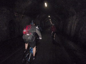 Chee Tor Tunnel No1 on the Monsal Trail.