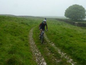 Simon on the Pillwell Gate descent.
