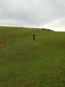 Graham and Paul on the (Strava) Hill'o'death.