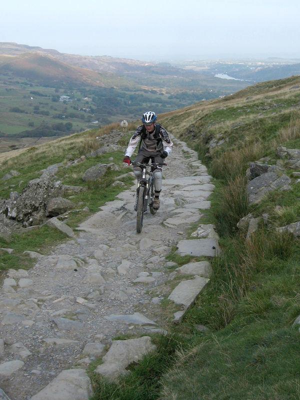 Routes Up Snowdon >> Snowdon - Llanberis Path - Snowdonia MTB Route Guide