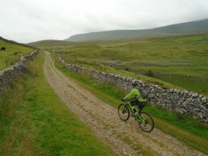 Brian on the Horton Scar climb.