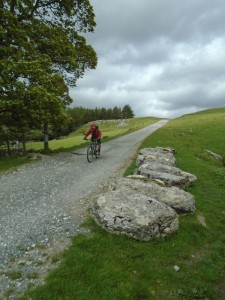 Graham descending to High Birkwith.