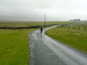 Brian on Rainscar road.