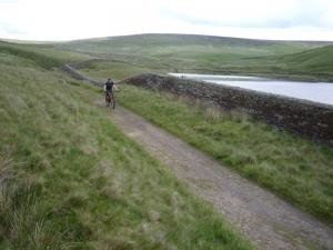 James by Cant Clough Reservoir.