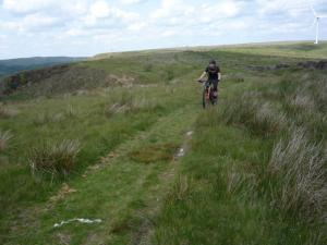 James on the Black Scout bridleway.