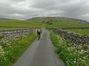 Graham heading towards Twisleton Scar End.